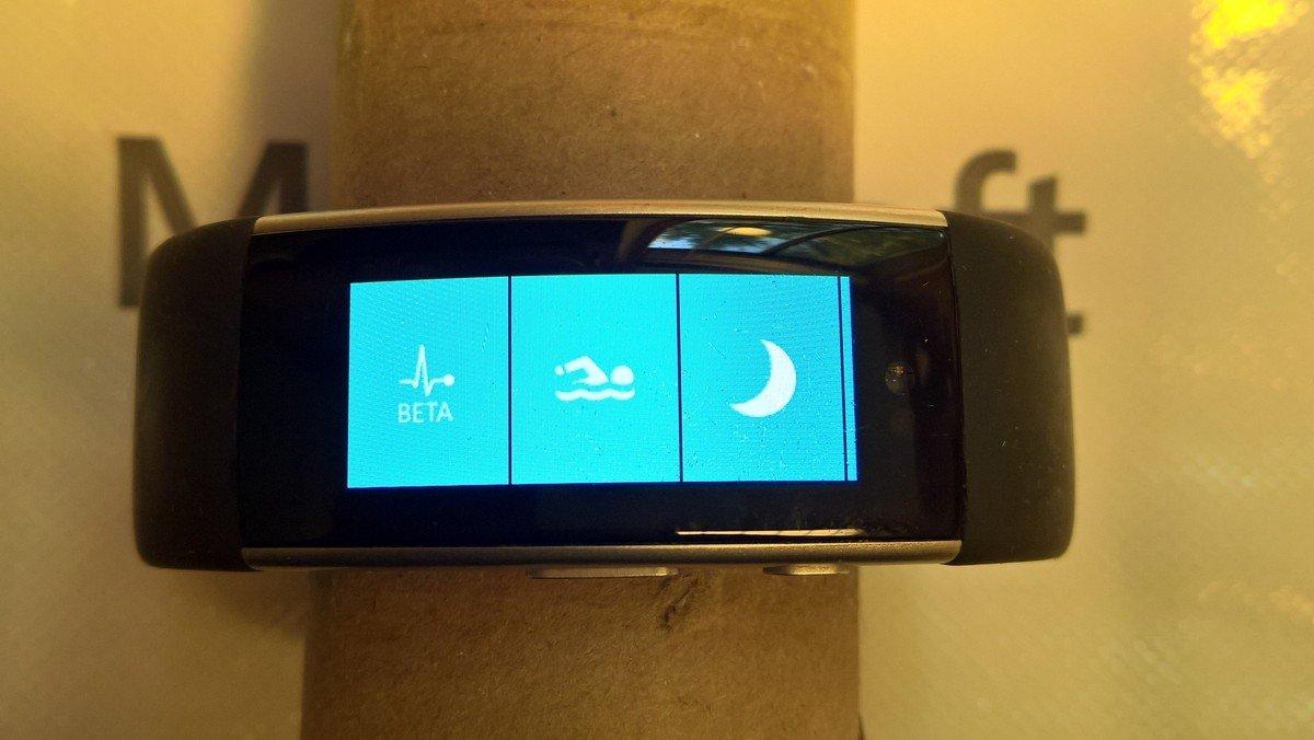 Отмененный фитнес-браслет Microsoft Band 3 засветился нафото