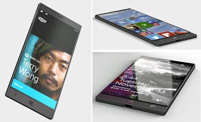 Появившийся наснимках Windows-смартфон наIntel неSurface Phone