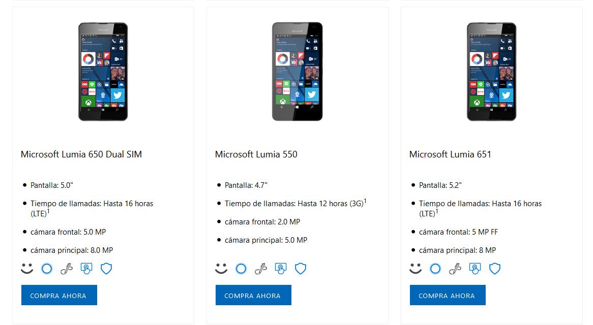 Lumia 651 замечена намексиканском сайте Microsoft