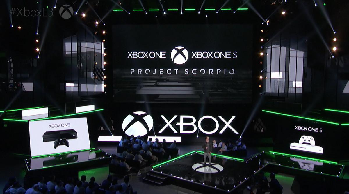 Project Scorpio могут показать на текущей неделе