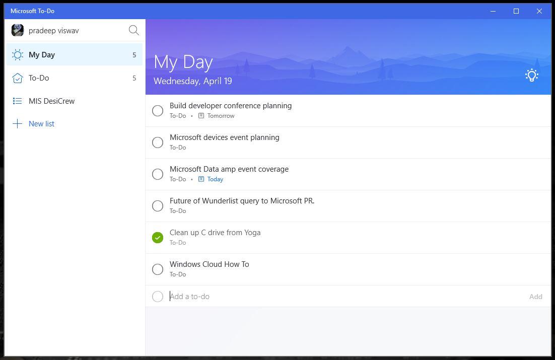Wunderlist закроется вближайшем будущем— Microsoft