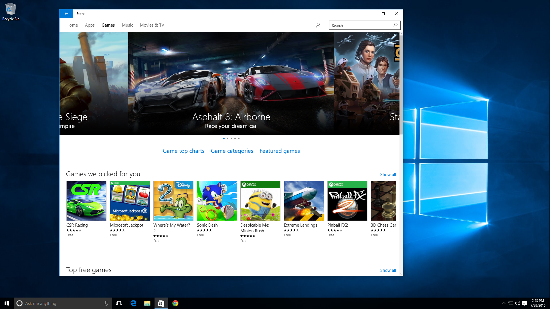 ITunes появятся вWindows Store