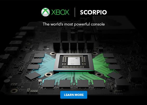 Microsoft представила приставку Xbox One X