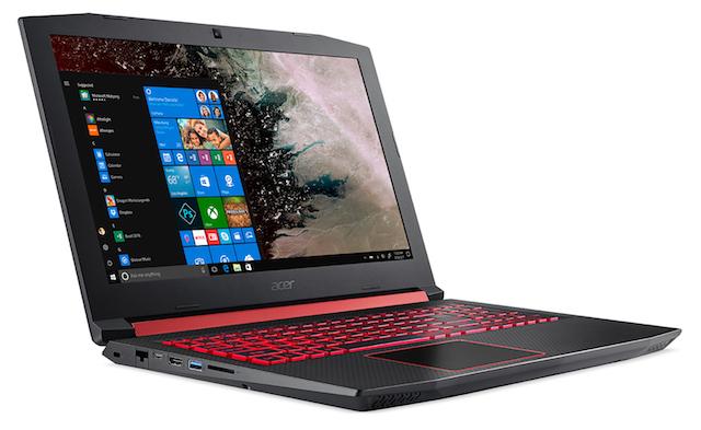 Acer привезла наCES 2018 новый игровой ноутбук Nitro 5