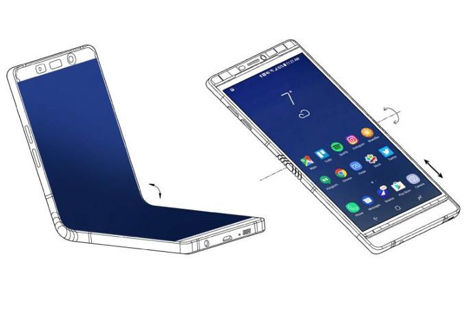 Складной Galaxy X представлен на секретной конференции Samsung