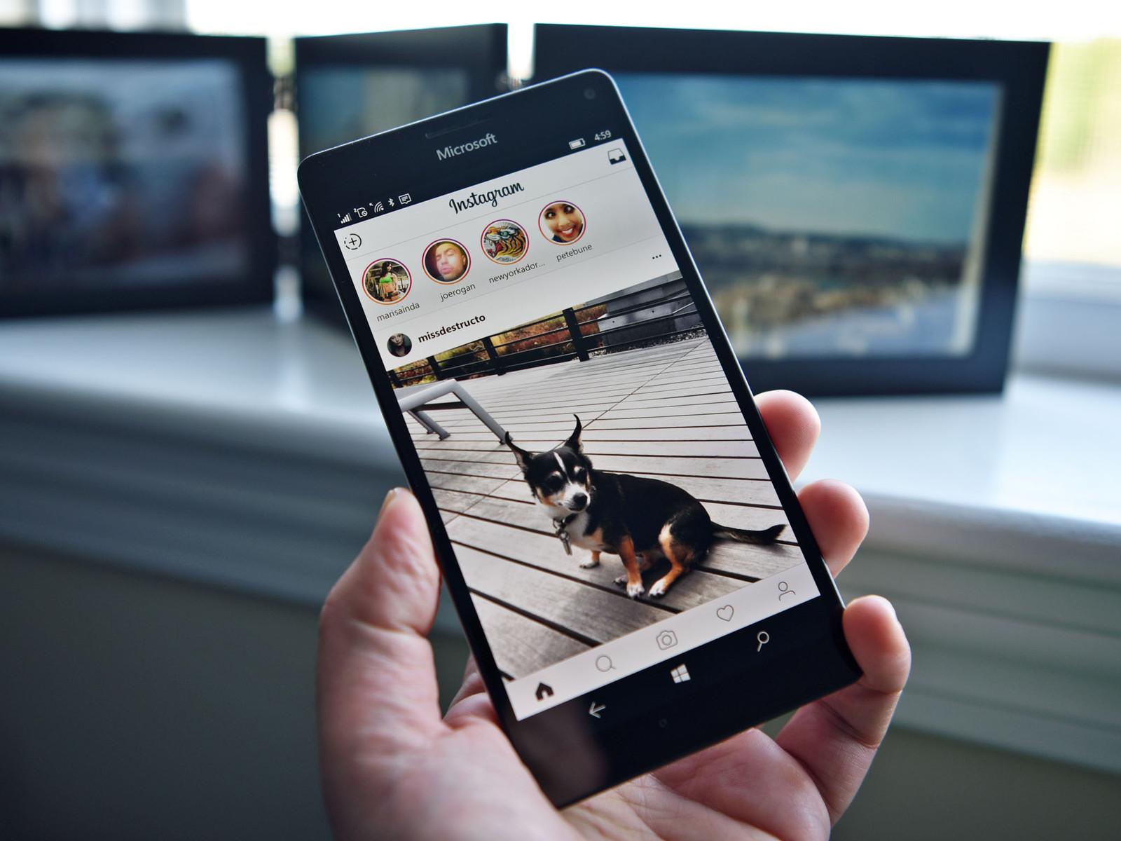 Мобильные телефоны наWindows 10 Mobile лишились приложения Инстаграм