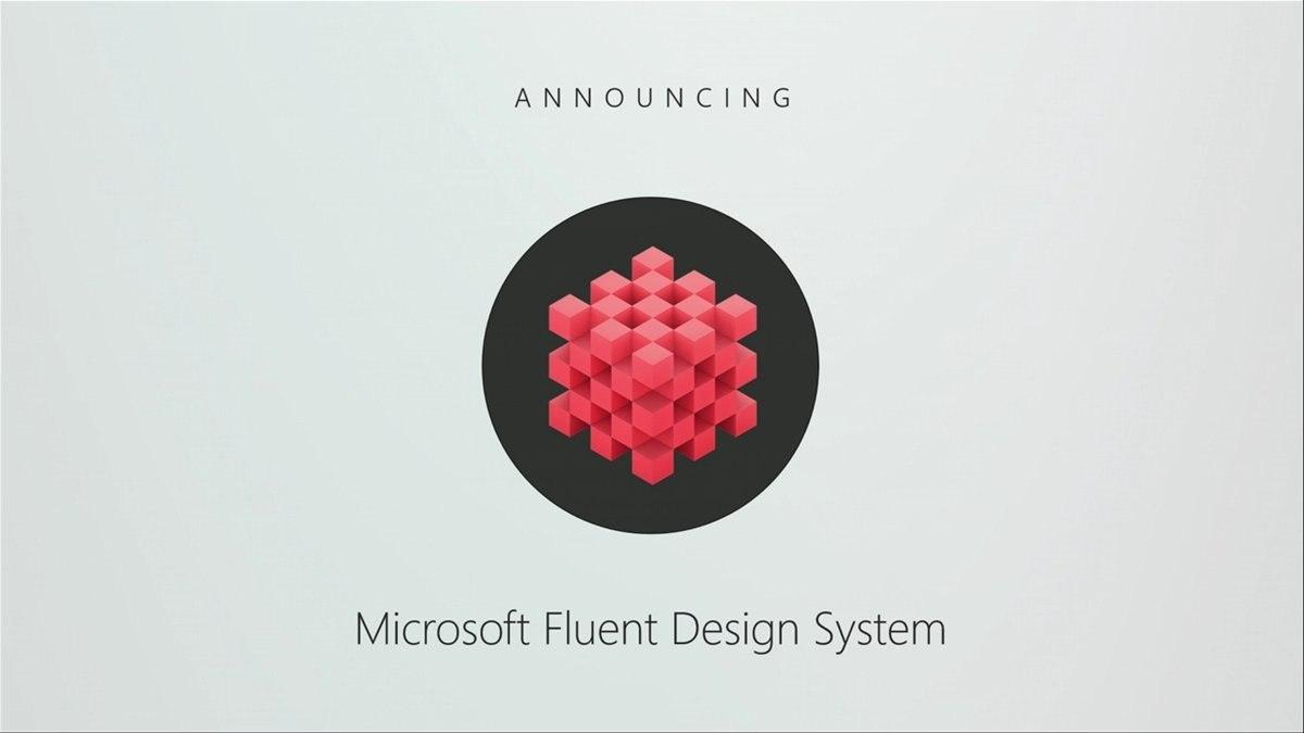 Microsoft поведала больше про будущее инастоящее Fluent Design наBuild 2018