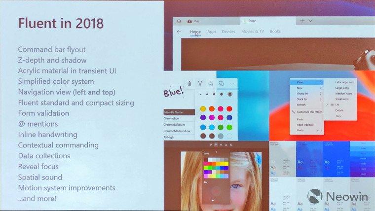Microsoft рассказала, какие нововведения ожидают Fluent Design в будущем