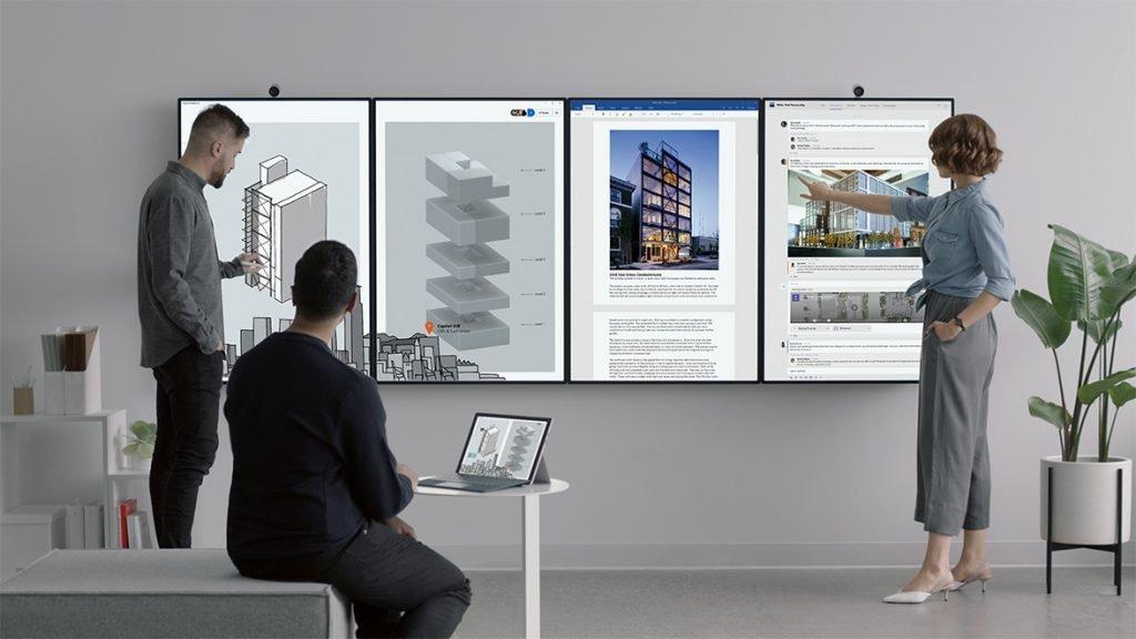 Microsoft представила Surface Hub 2