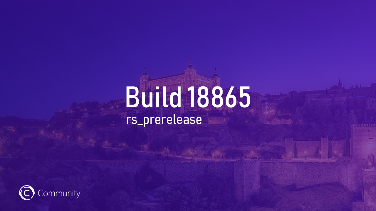 Анонс Windows 10 Insider Preview Build 18865 (Skip Ahead)