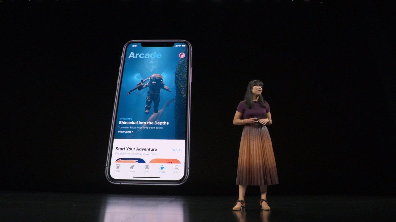 Игровой сервис Apple Arcade запустится 19 сентября