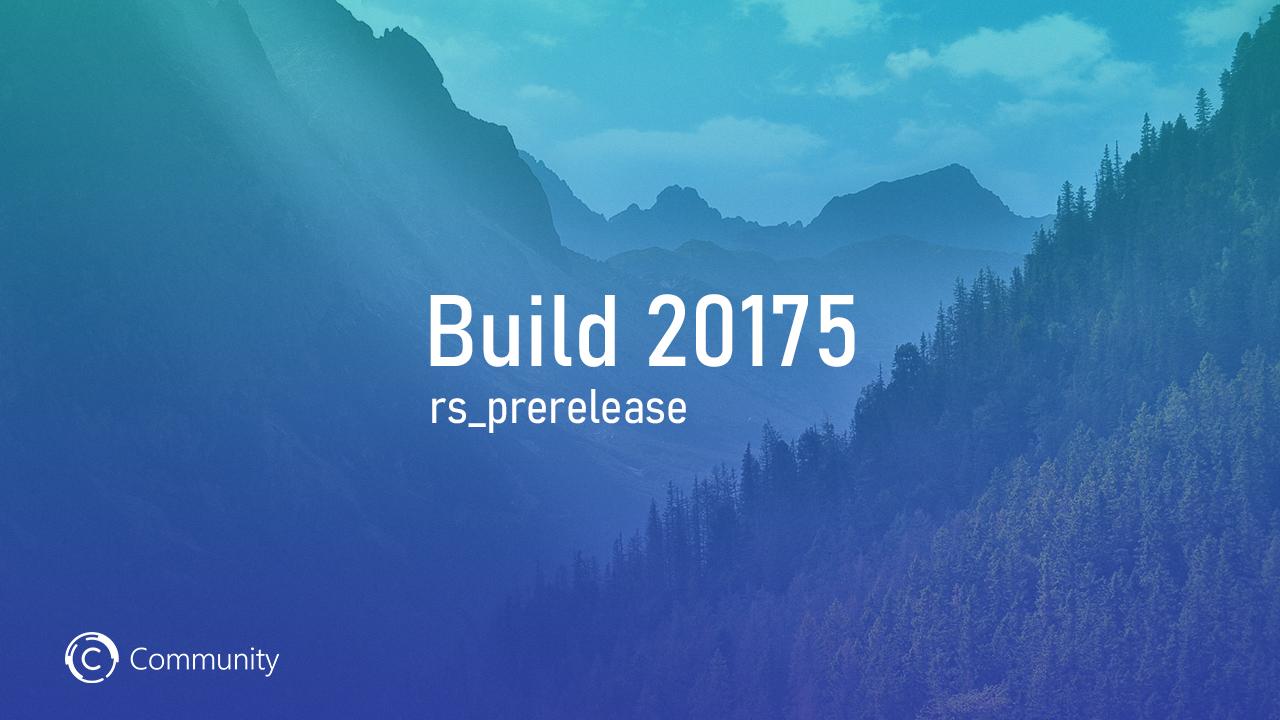 Анонс Windows 10 Insider Preview Build 20175 (канал Dev)