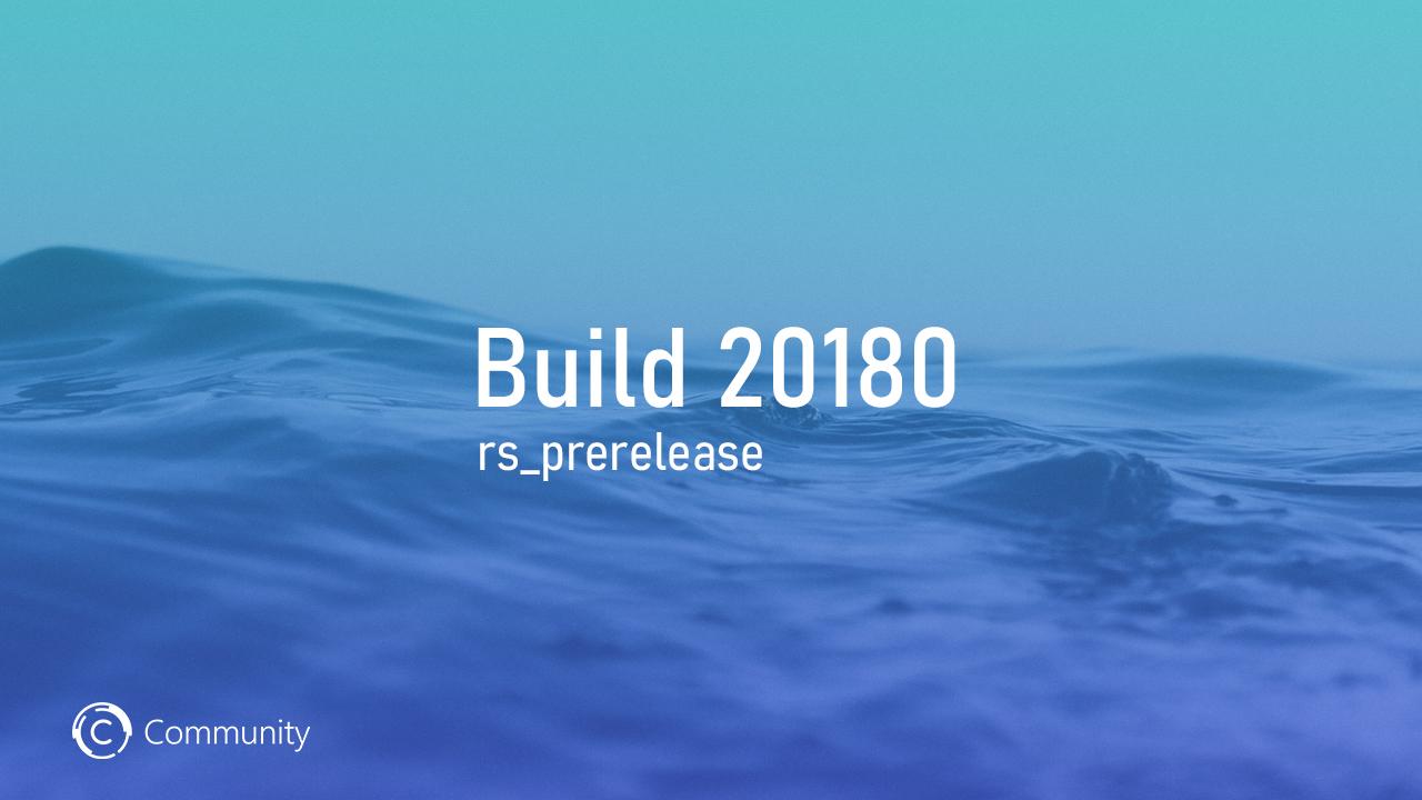 Анонс Windows 10 Insider Preview Build 20180 (канал Dev)