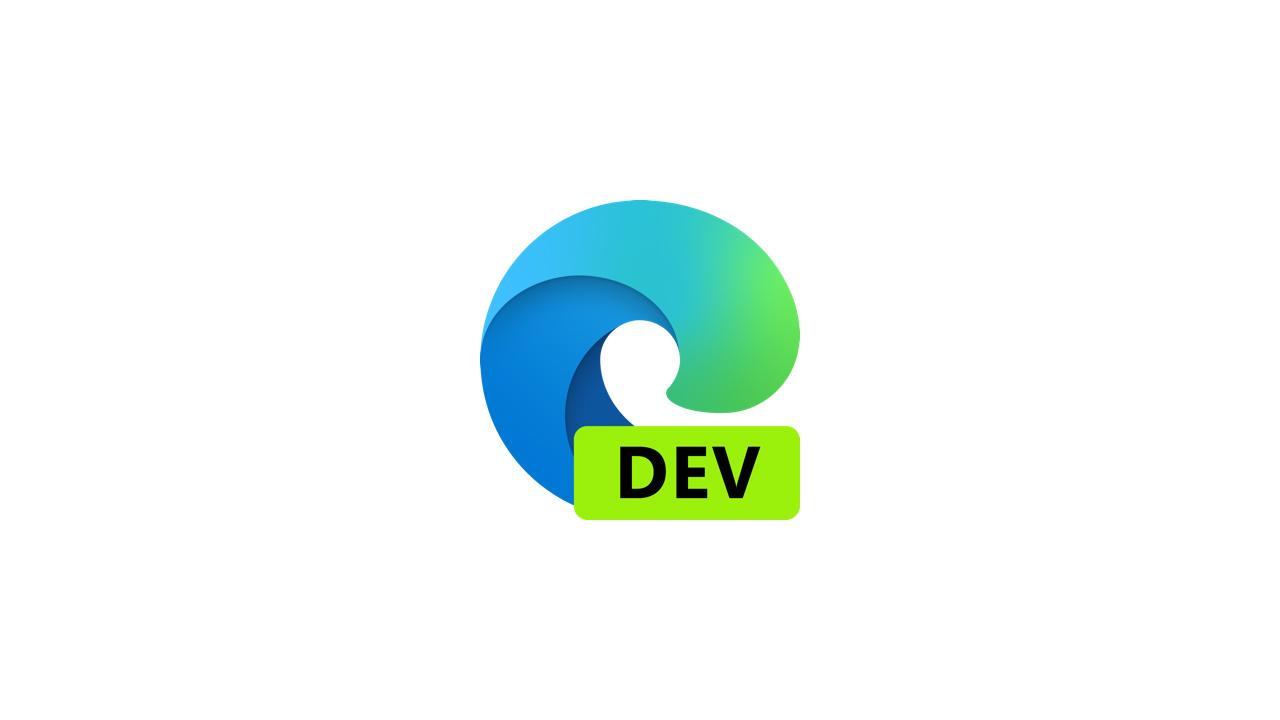 Выпущена сборка Microsoft Edge Dev 86.0.594.1
