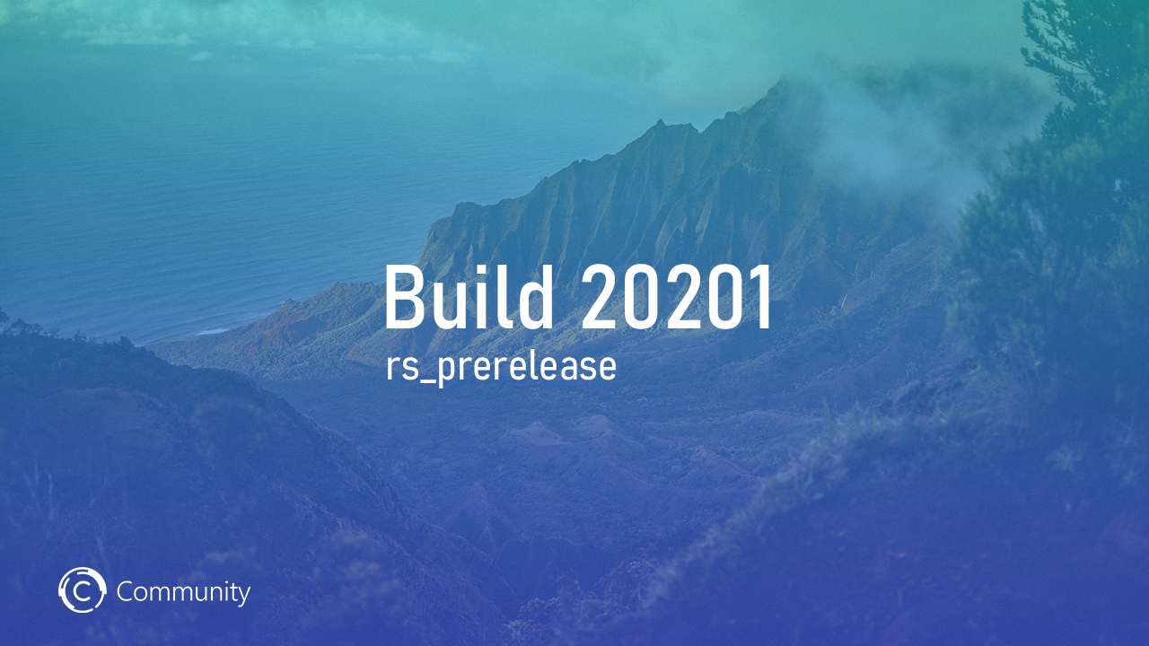 Анонс Windows 10 Insider Preview Build 20201 (канал Dev)
