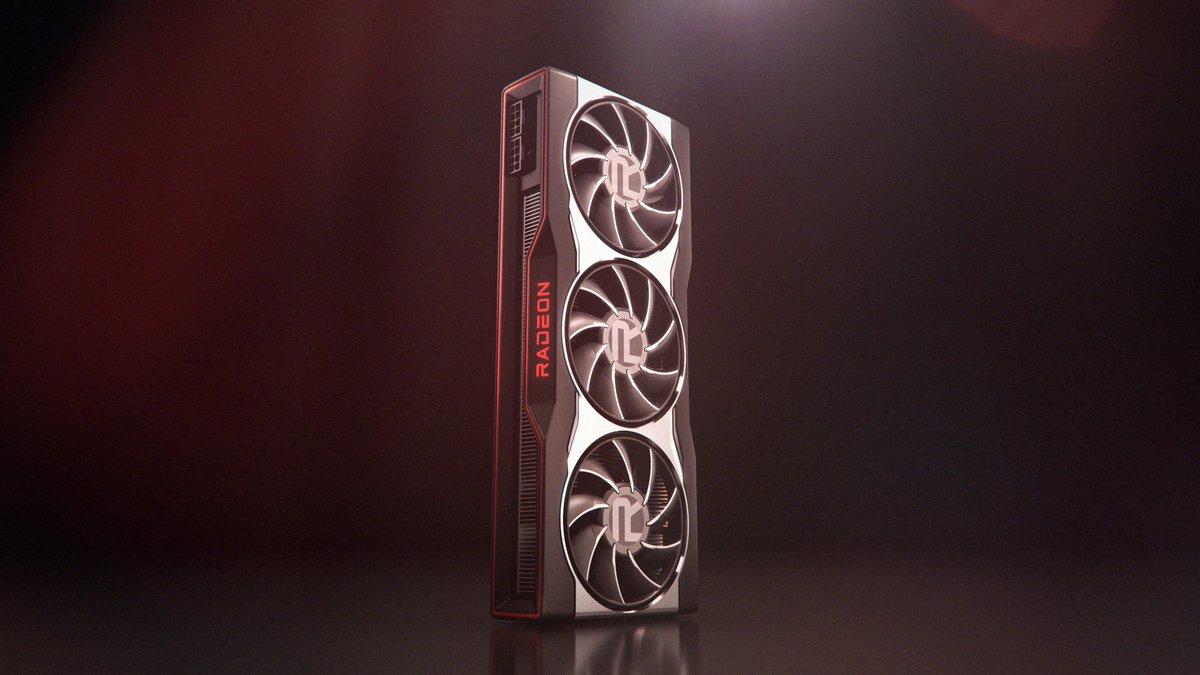 AMD показала дизайн референсной видеокарты серии Radeon RX 6000