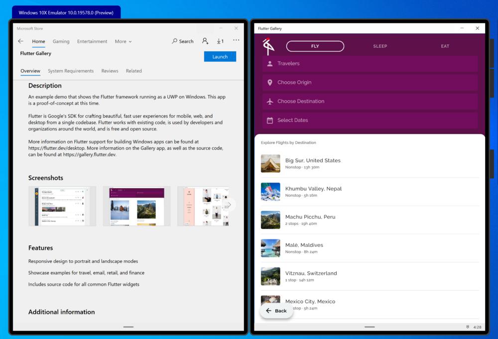 Google представила альфа-версию Flutter для Windows
