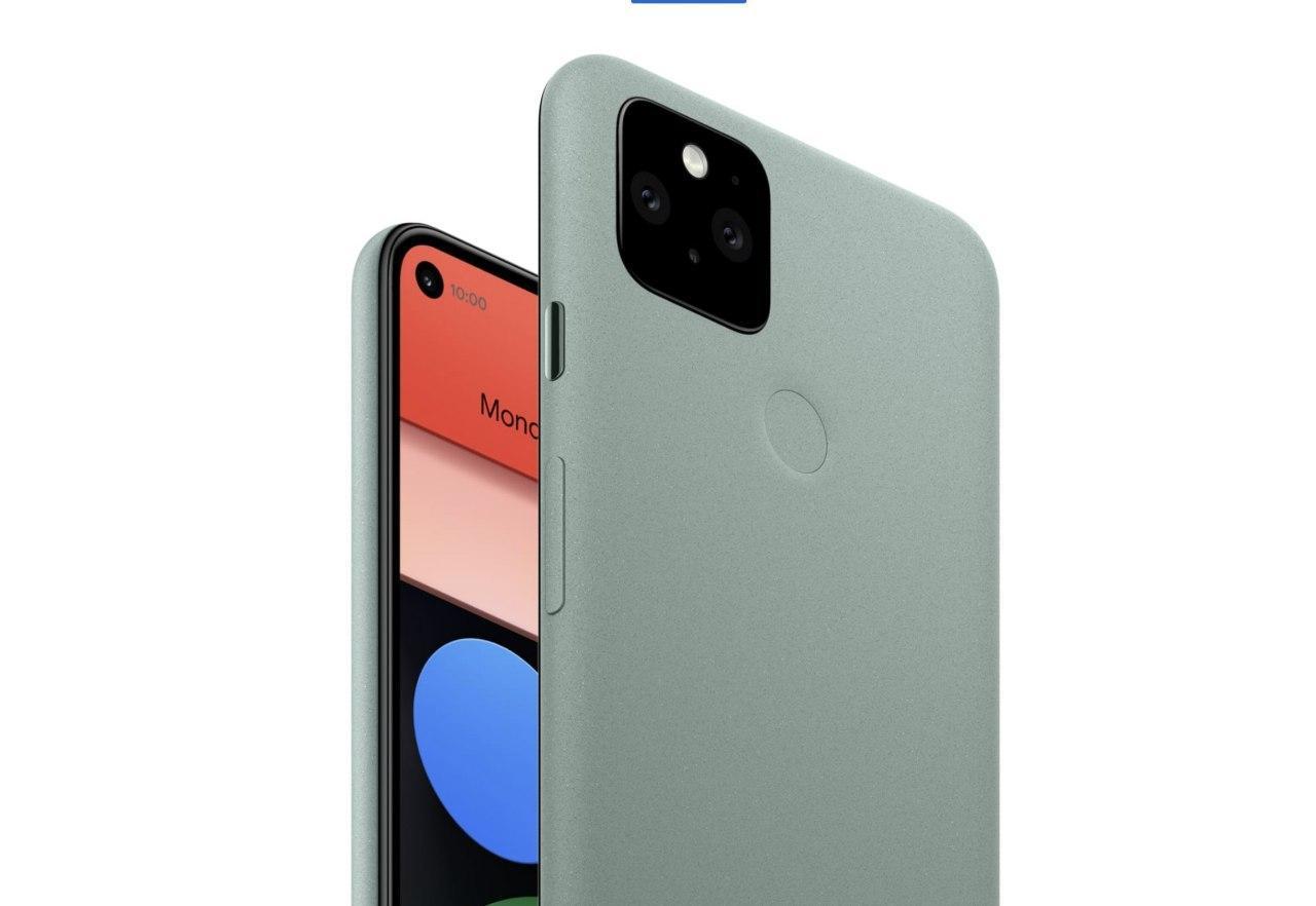 Google анонсировала смартфоны Pixel 5 и Pixel 4a 5G