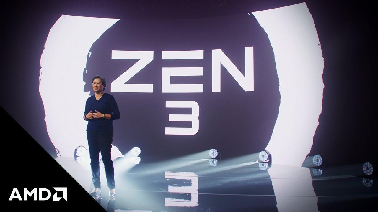 AMD представила новые процессоры серии Ryzen 5000 на архитектуре Zen 3