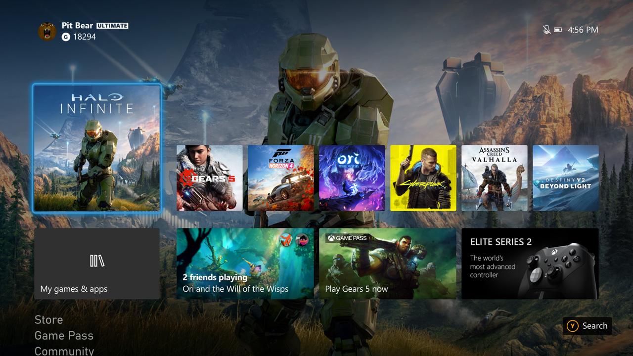 Состоялся релиз октябрьского обновления для Xbox One