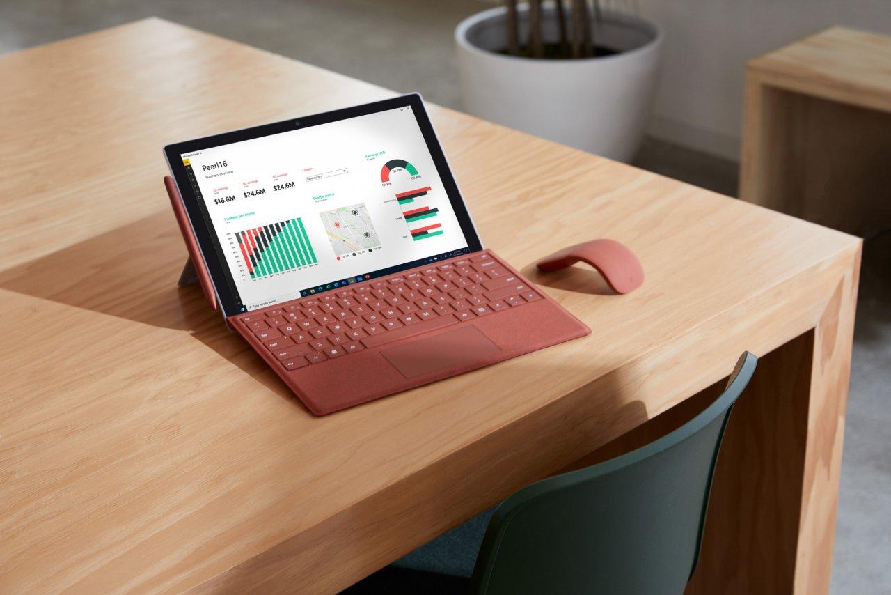 Microsoft представила Surface Pro 7 Plus с большим аккумулятором, съёмным SSD и LTE
