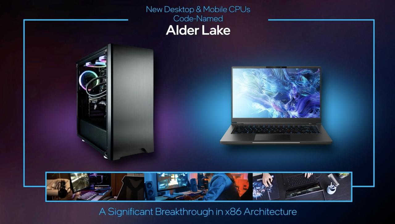 CES 2021: Intel представила процессоры 12-го поколения Alder Lake