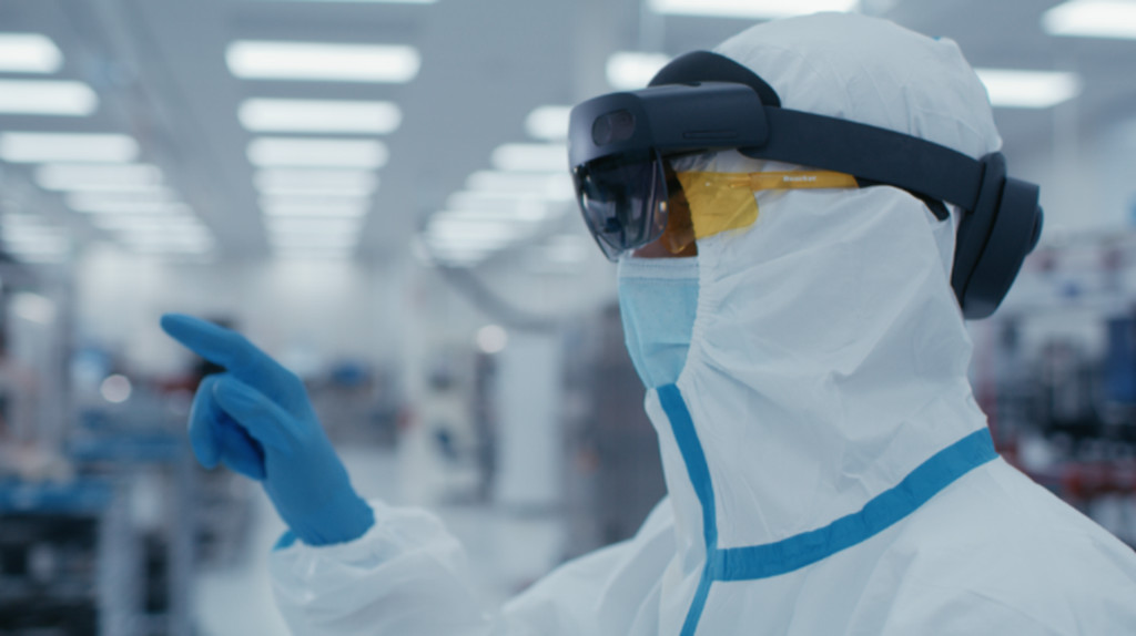 Microsoft анонсировала HoloLens 2 Industrial Edition