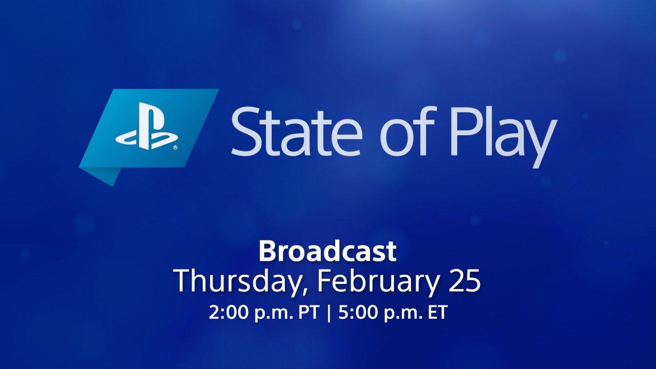 Sony проведёт трансляцию State of Play в ночь с 25 на 26 февраля
