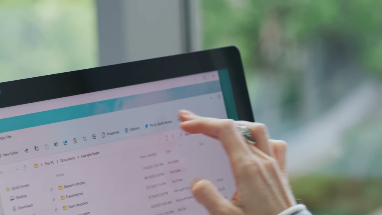 Microsoft показала новый пользовательский интерфейс Проводника в Windows 11