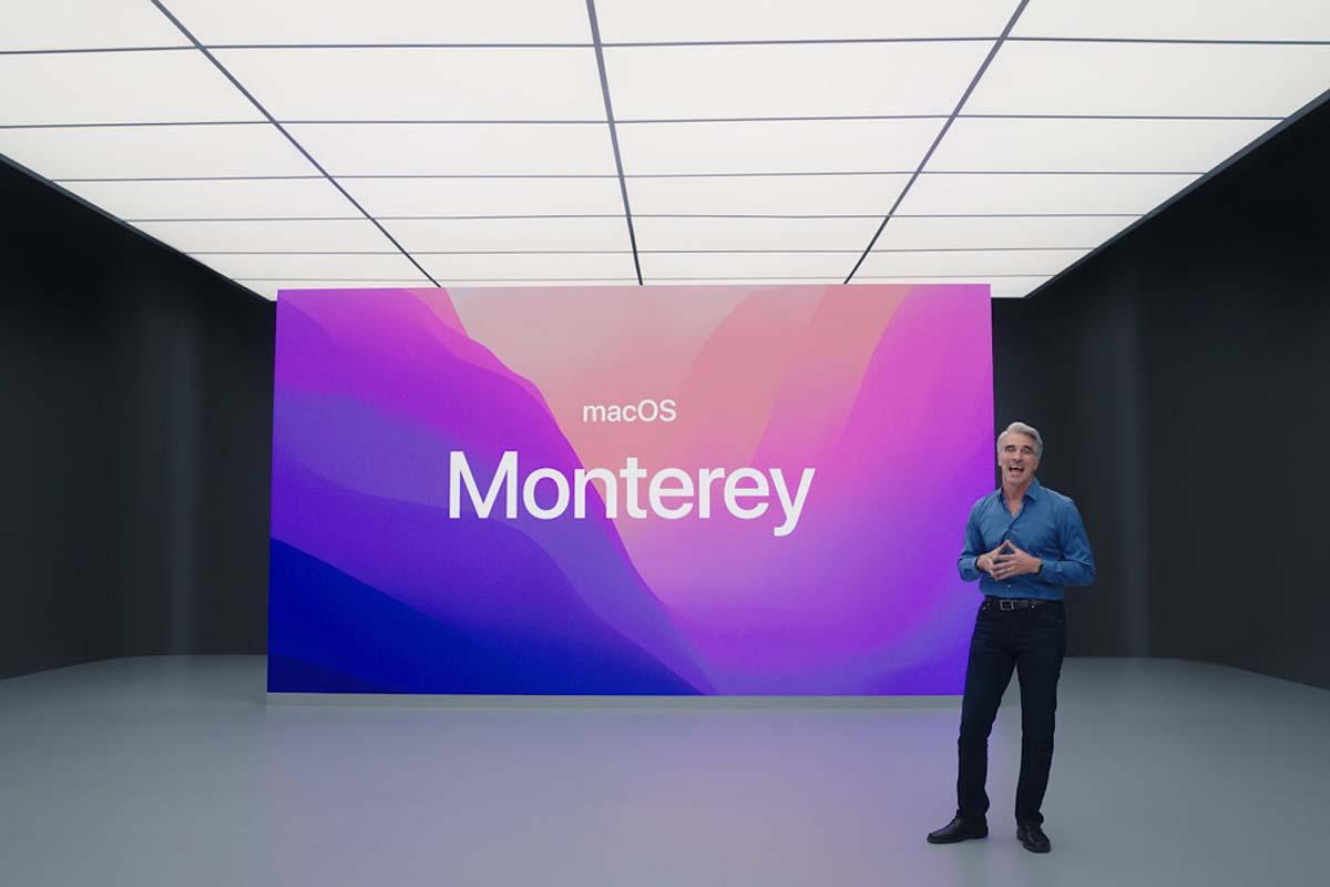 Релиз macOS 12 Monterey состоится 25 октября