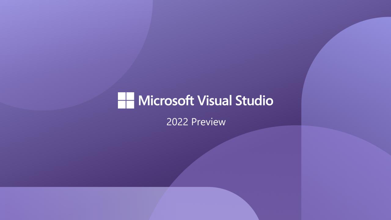Visual Studio 2022 выйдет 8 ноября 2021 года