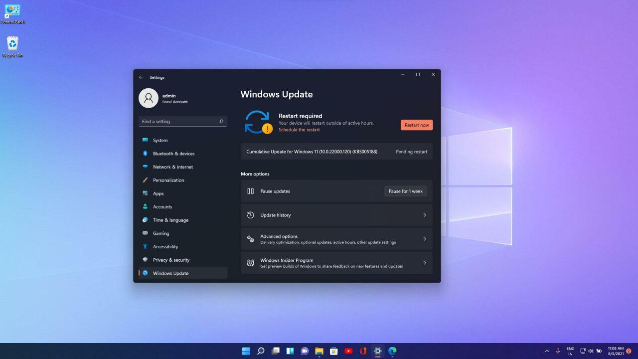 Microsoft начала тестирование Update Stack Package для Windows 11