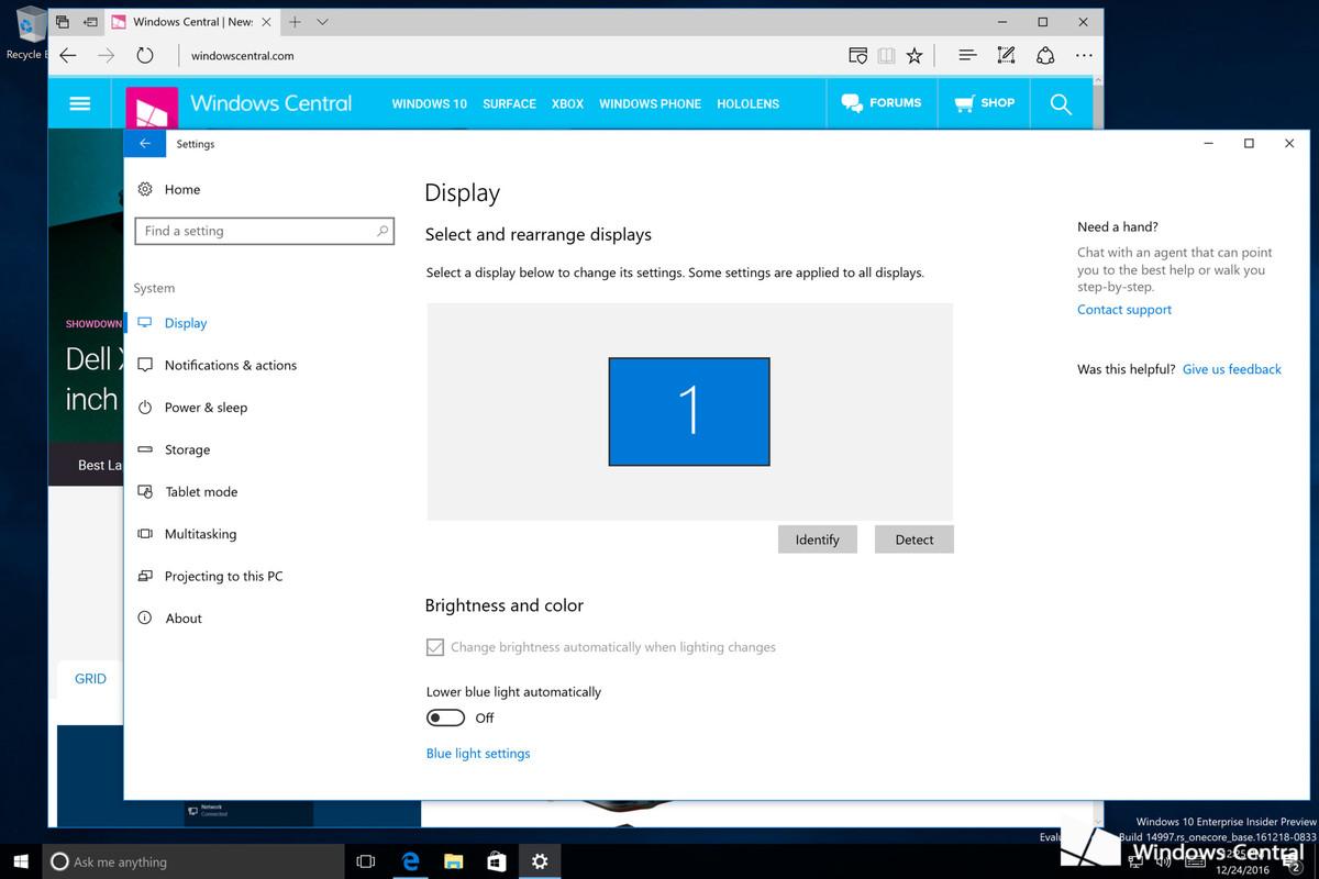 Windows 10 Build 14997 утекла в сеть