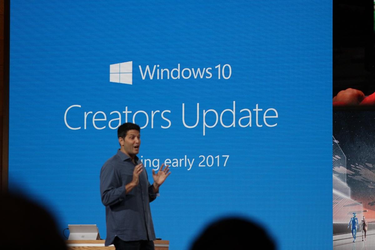 Выход Creators Update состоится уже в апреле